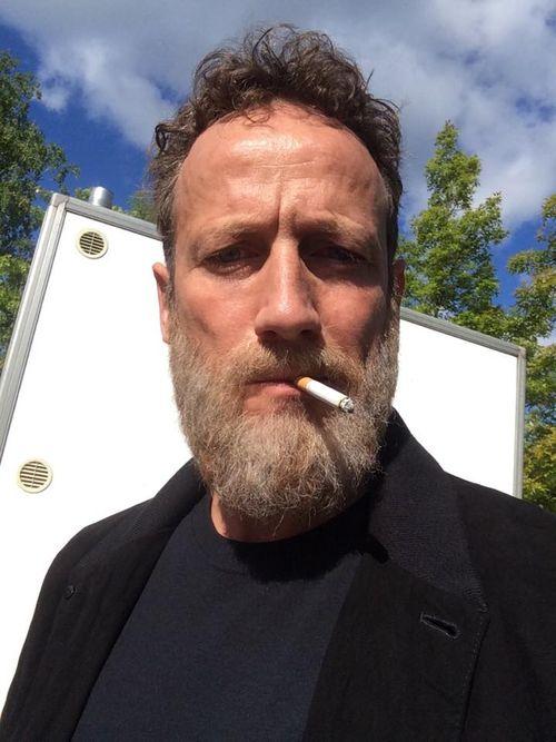 Wotan Wilke Möhring zeigt sich jetzt mit Bart