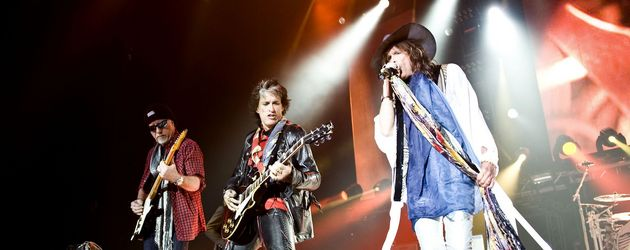 Aerosmith geben ein Konzert
