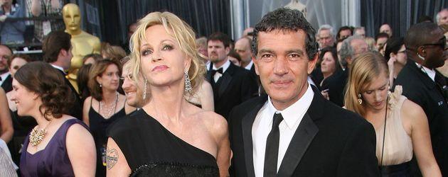Antonio Banderas und Melanie Griffith auf dem roten Teppich