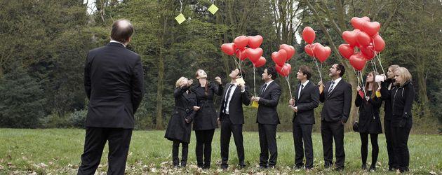 Beerdigung bei AWZ