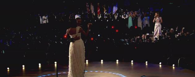 Beyonce singt für die Obamas