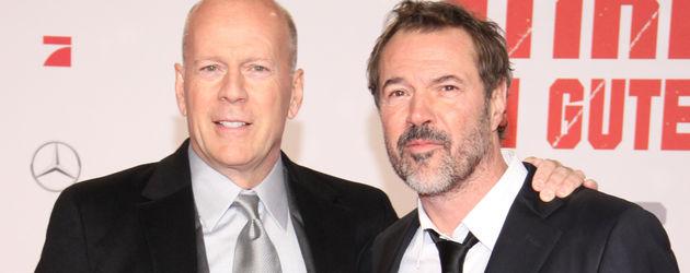 Bruce Willis und Sebastian Koch