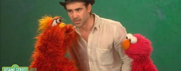 Colin und Elmo
