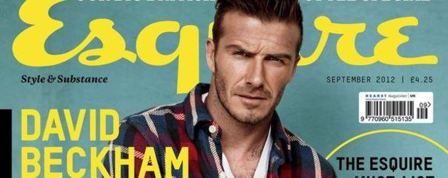 David Beckham auf dem September-Cover von Esquire