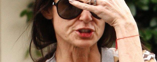 Demi Moore mit vielen Falten im Gesicht