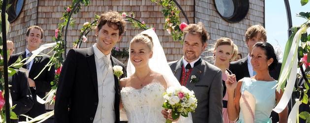 Die Hochzeit von Theresa und Moritz