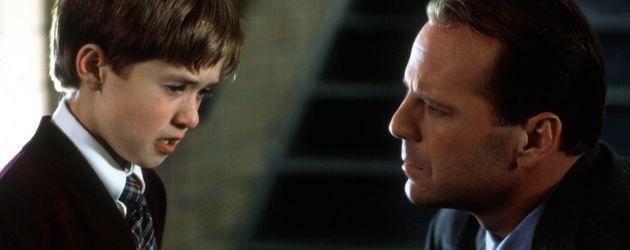 Haley Joel Osment und Bruce Willis