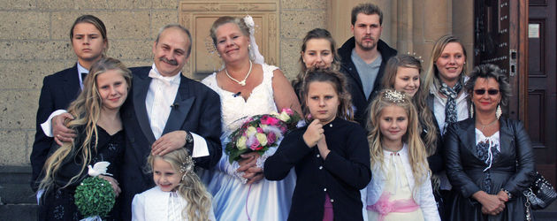 Hochzeitsfoto der Wollnys