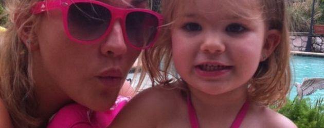 Jamie Lynn Spears und Maddie in Pink