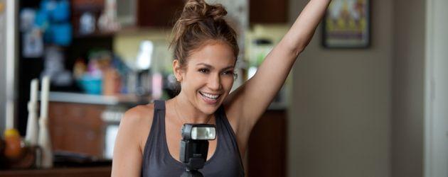 Jennifer Lopez mit Kamera