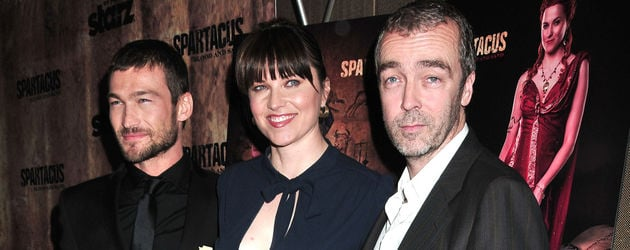 John Hannah, Lucy Lawless und Andy Whitfield