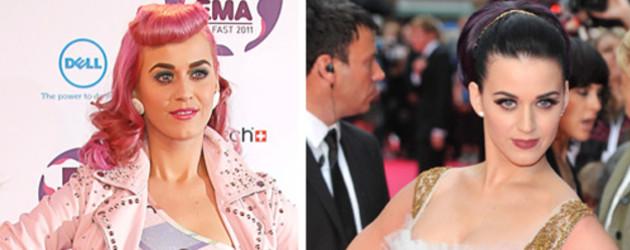 Katy Perry vor und nach der Trennung