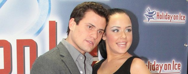 Kim und Rocco total glücklich