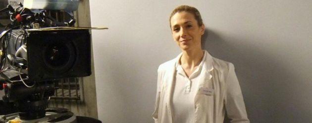 Kristin Meyer im Arztkittel