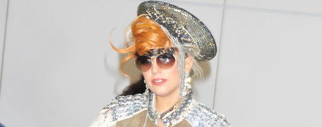 Lady GaGa in einem Wahnsinns-Outfit