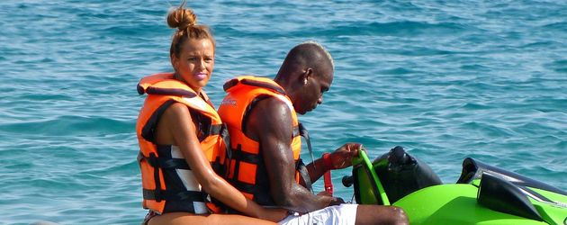 Mario Balotelli im Urlaub