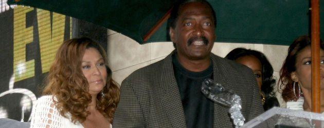 Mathew Knowles mit seiner Frau