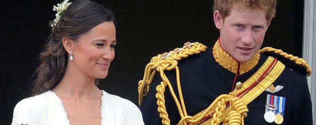Pippa Middleton und Prinz Harry