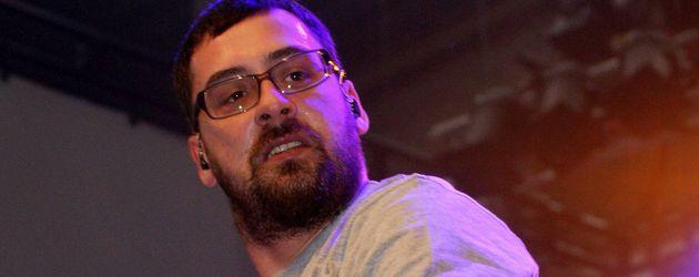 Rapper Sido auf der Bühne