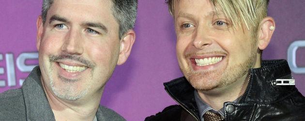 Ross Anthony und sein Mann beim deutschen Comedypreis