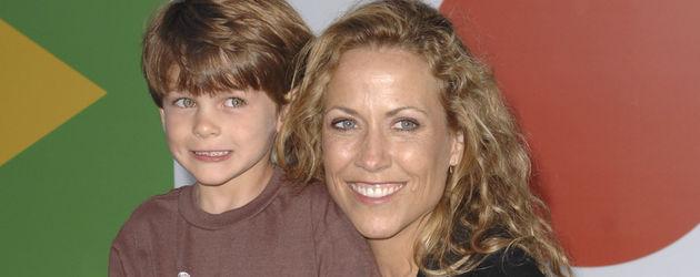Sheryl Crow und ihr Sohn