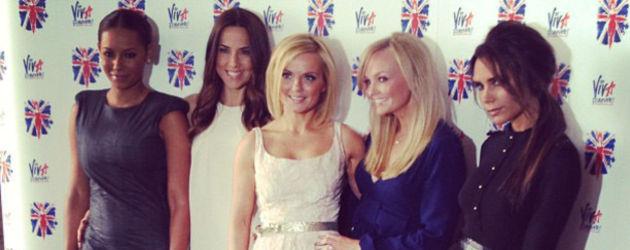 Spice Girls ins schicken Kleidchen