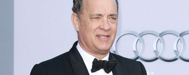 Tom Hanks guckt zweifelnd