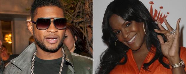 Usher und seine Ex Tameka