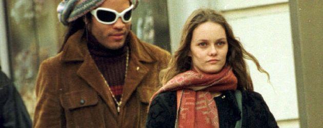 Vanessa Paradis und Lenny Kravitz gehen spazieren
