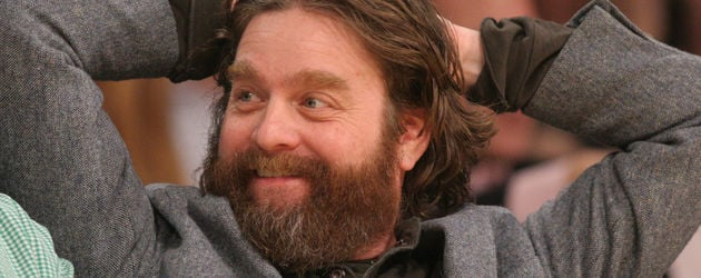 Zach Galifianakis bei den LA Lakers