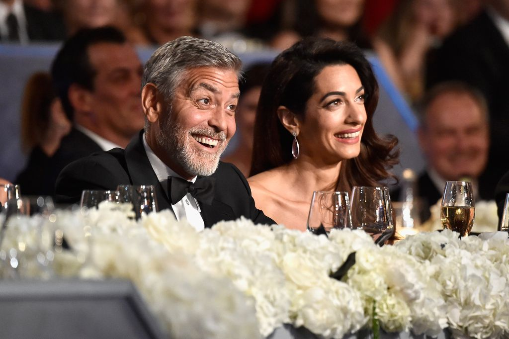 Amal nackt Clooney George and