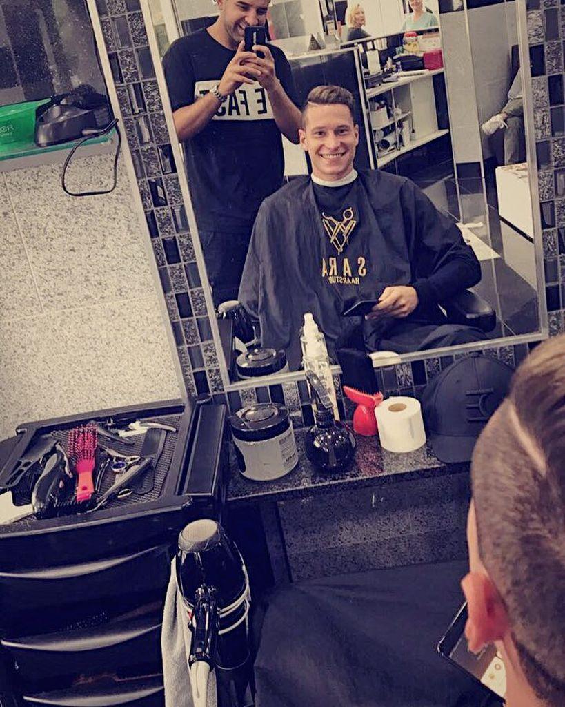 Die Frisur Muss Sitzen Wm Kicker Julian Draxler Ist Eitel