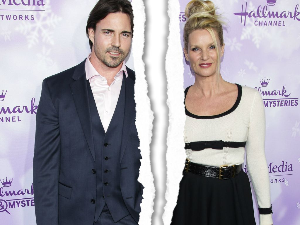Aaron Phypers und Nicollette Sheridan bei der Hallmark Movies and Mysteries Press Tour 2016