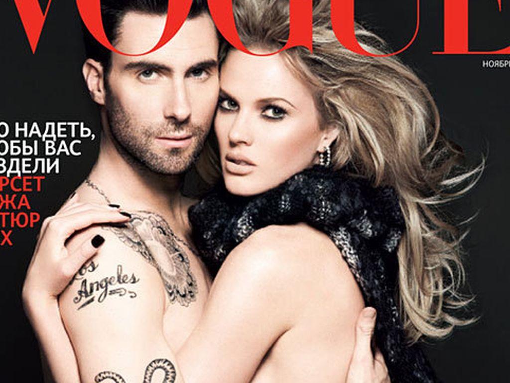 Adam Levine: Nackt mit Freundin auf der Vogue! | Promiflash.de