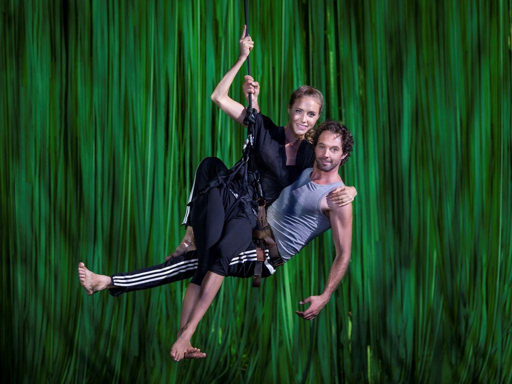 Alena Gerber und John Vooijs