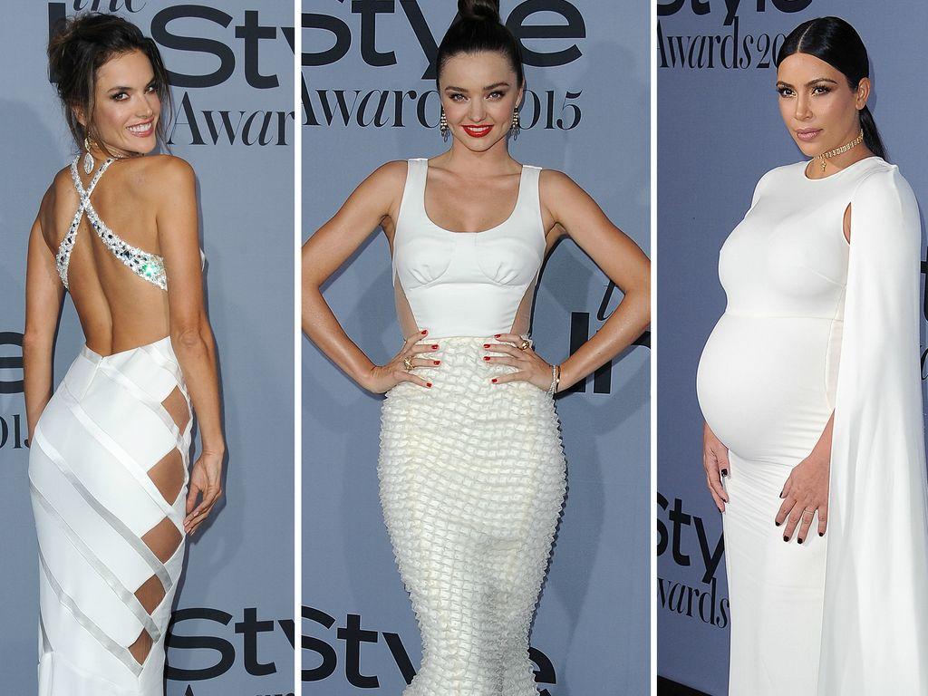Kim Kardashian, Alessandra Ambrosio und Miranda Kerr