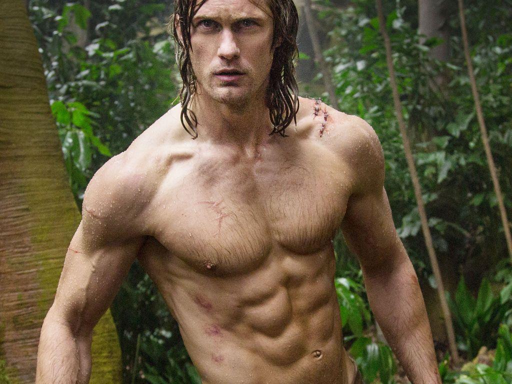 "Alexander Skarsgard als Tarzan im Film ""Legend of Tarzan"""