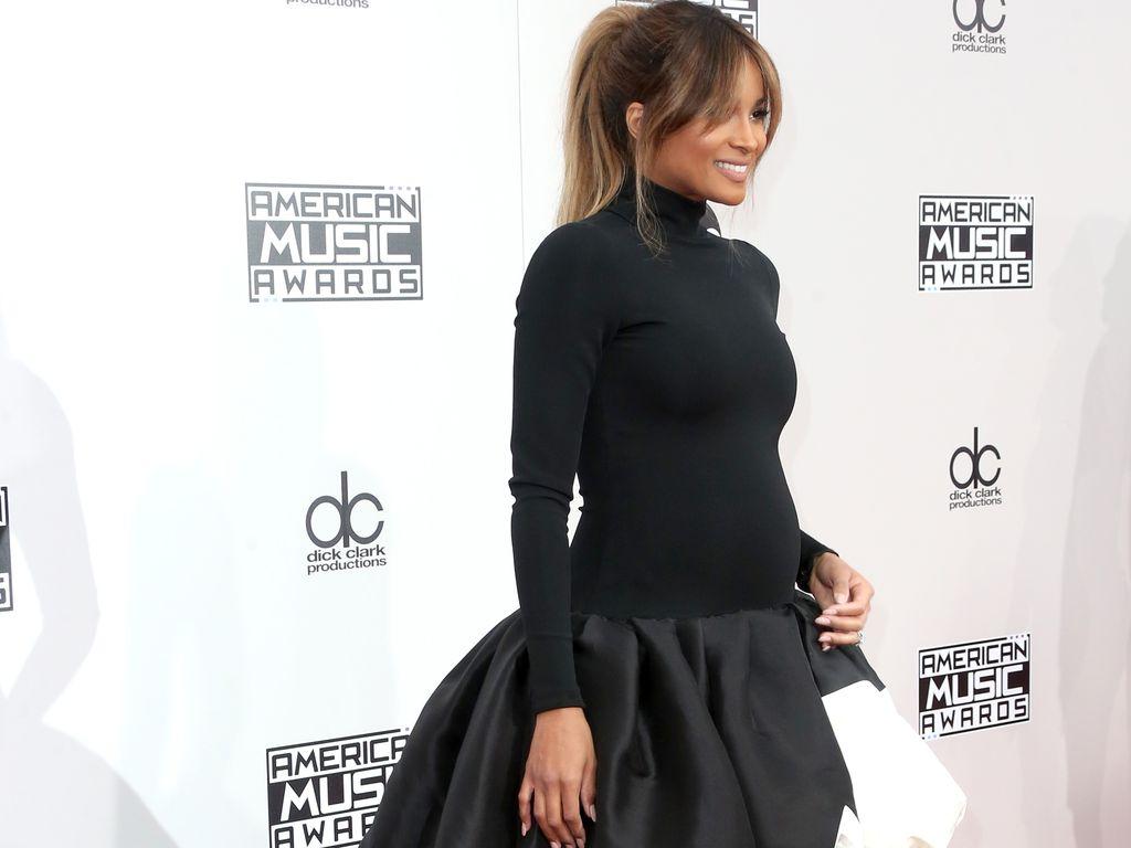 American Music Awards 2016: Ciara während ihrer zweiten Schwangerschaft
