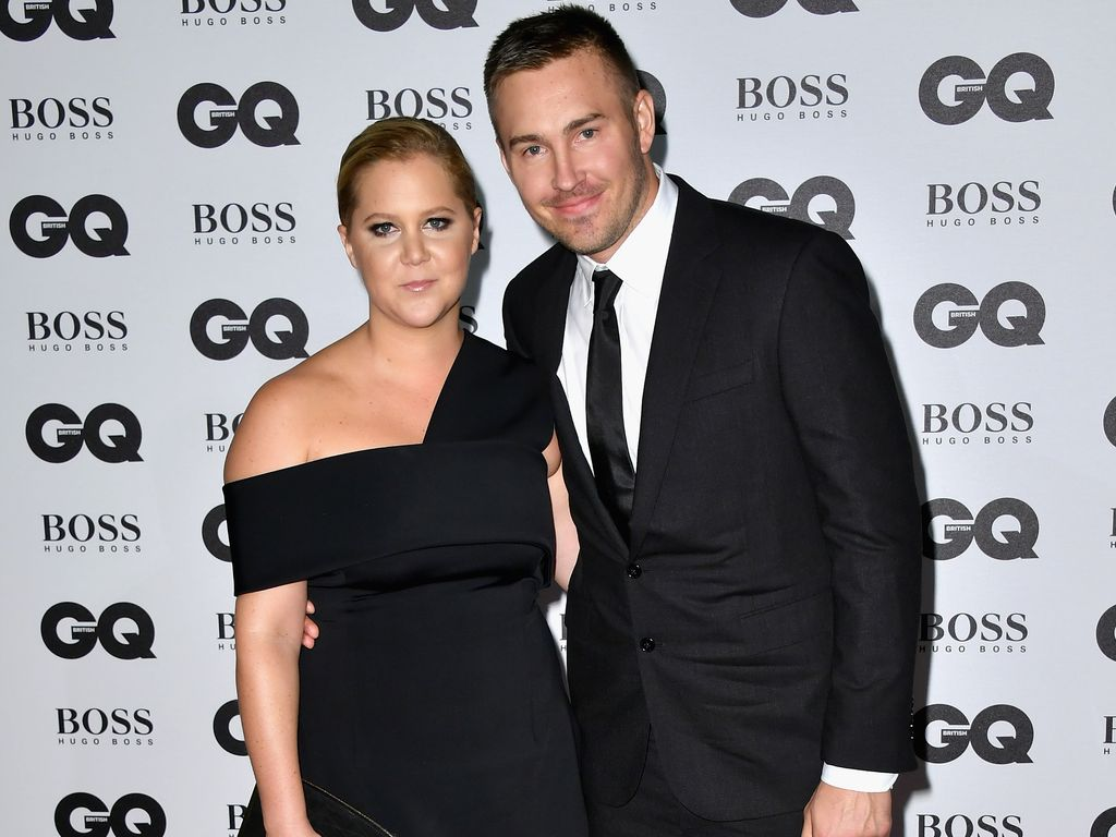 """Amy Schumer und Ben Hanisch bei """"GQ Men Of The Year Awards 2016"""" in London"""