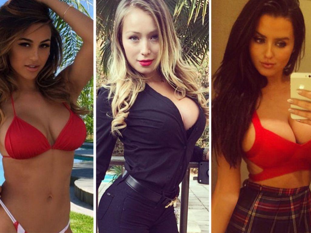 Daniella Chavez, Ana Cheri und Abigail Ratchford