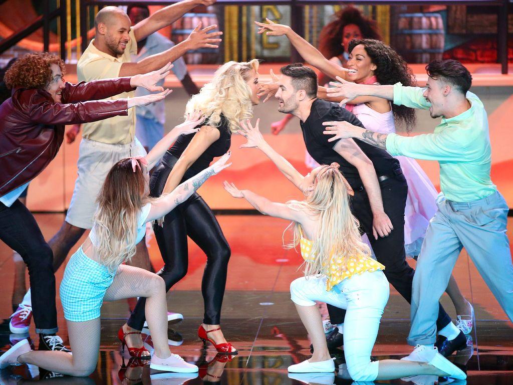 "Aneta Sablik und Menderes bei ""Dance Dance Dance"""