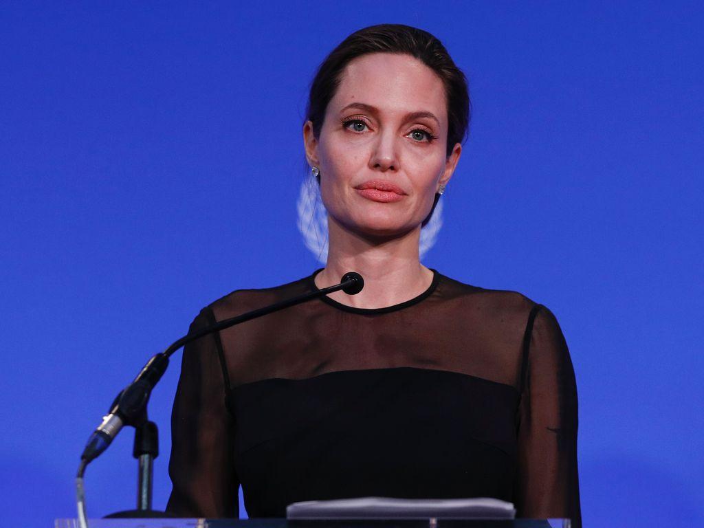 Angelina Jolie in London 2016
