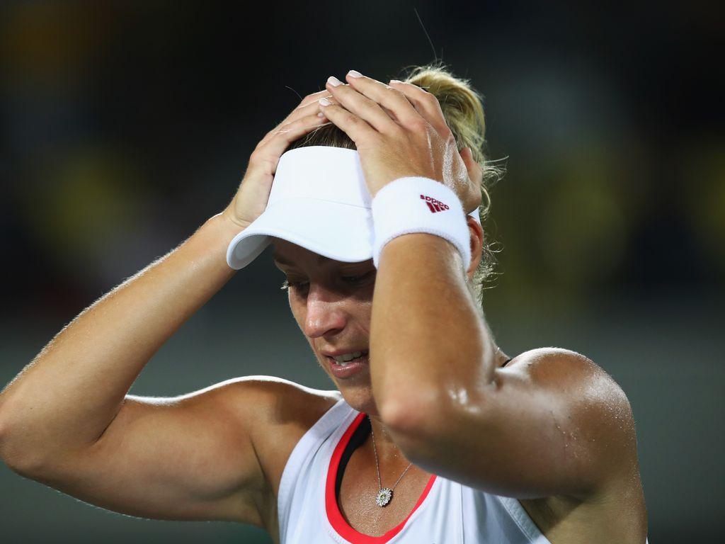 Angelique Kerber bei den Olympischen Spielen 2016 in Rio