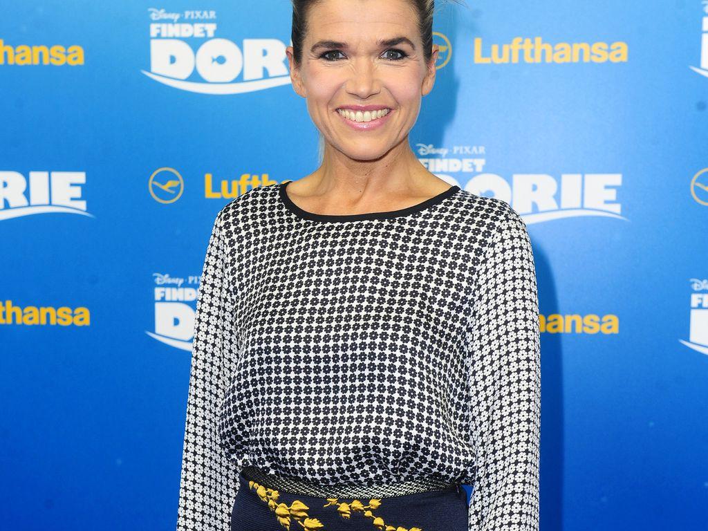"""Anke Engelke bei der Premiere von """"Dorie"""" im Zoopalast Berlin"""