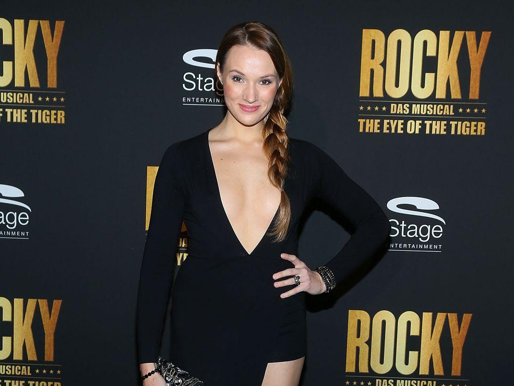 """Anna Hofbauer bei der """"Rocky""""-Premiere"""