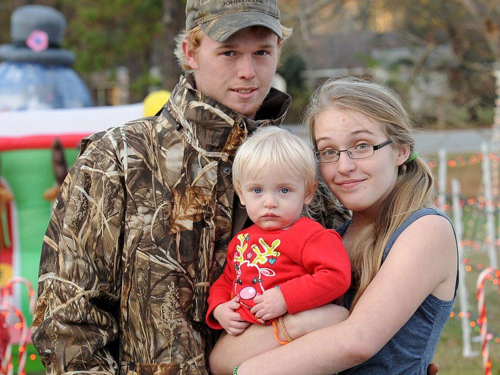Anna Cardwell und ihre Familie