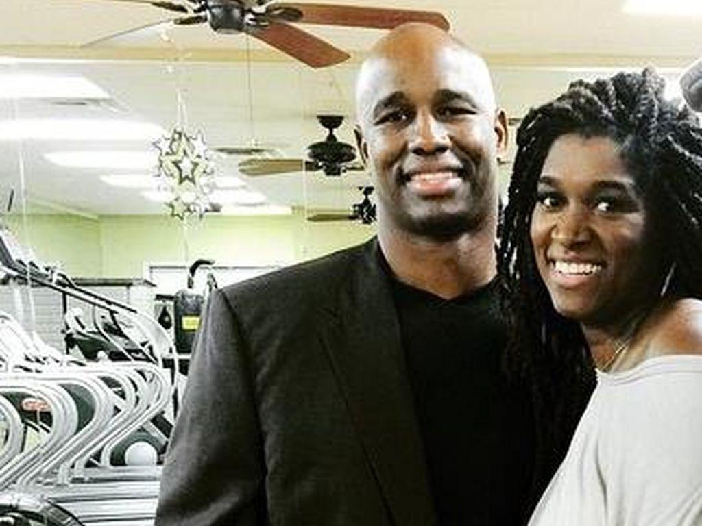 Antonio Armstrong und seine Frau 2015
