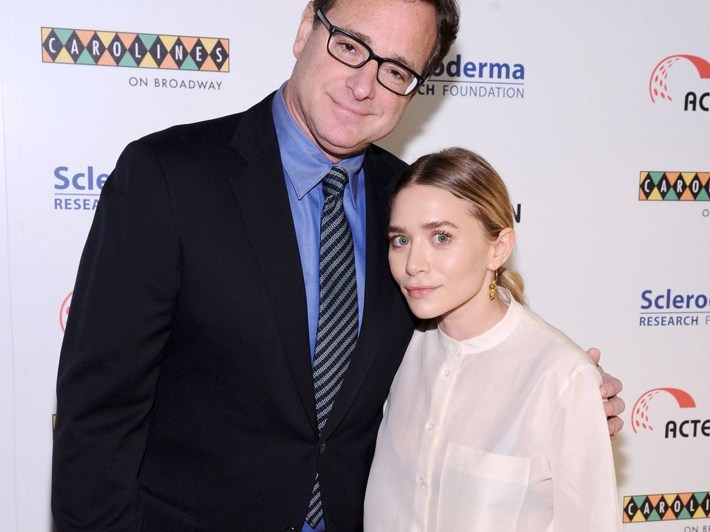 Ashley Olsen und Bob Saget