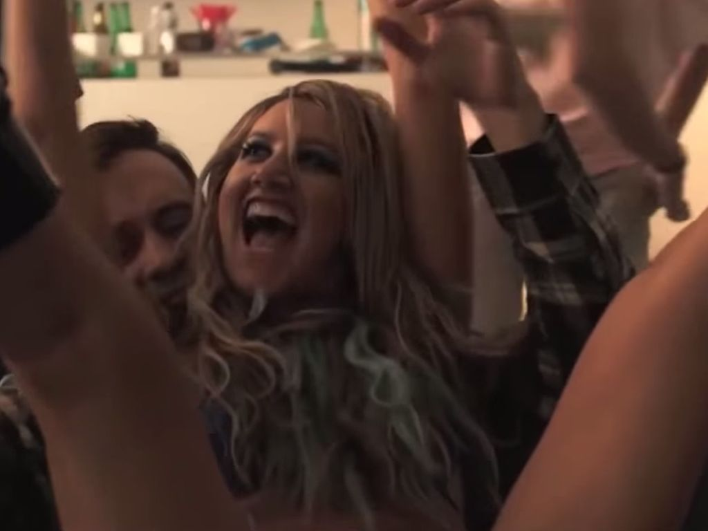 "Ashley Tisdale als Stripperin in ""Amateur Night"""