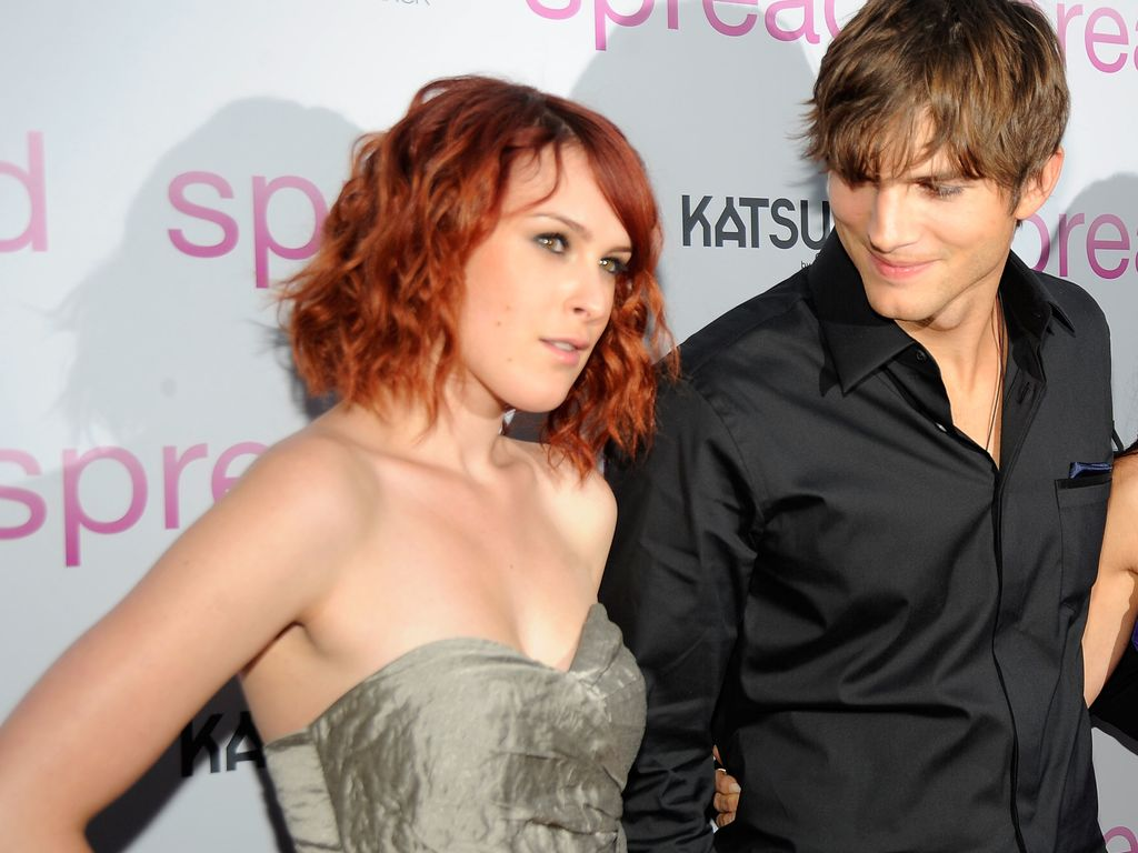 Ashton Kutcher und Rumer Willis